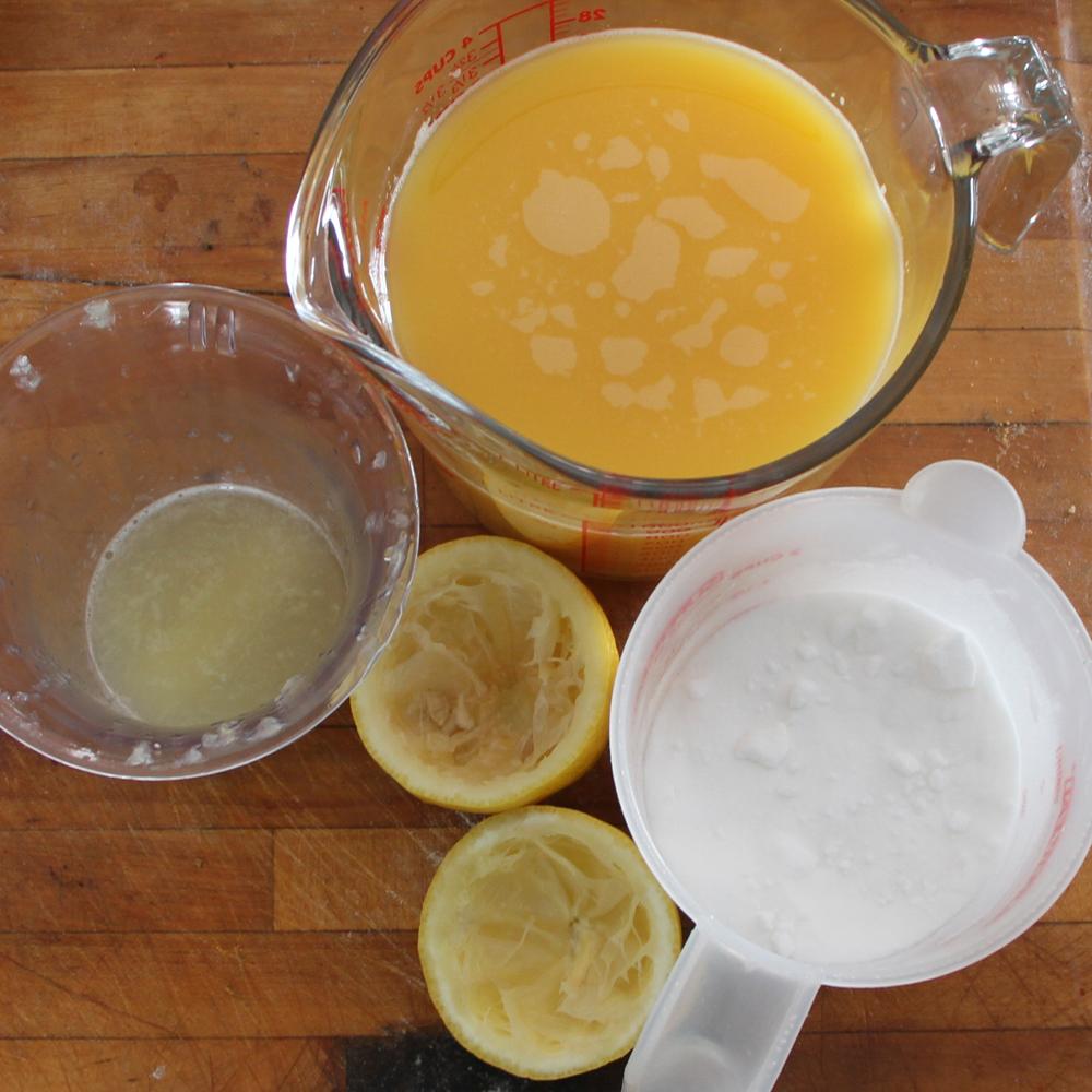 Sorbet orange-tangerine