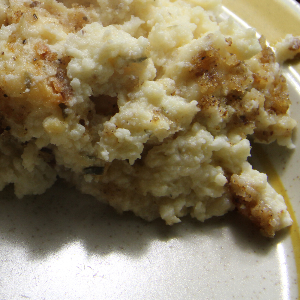 Pommes de terre en quasi soufflé