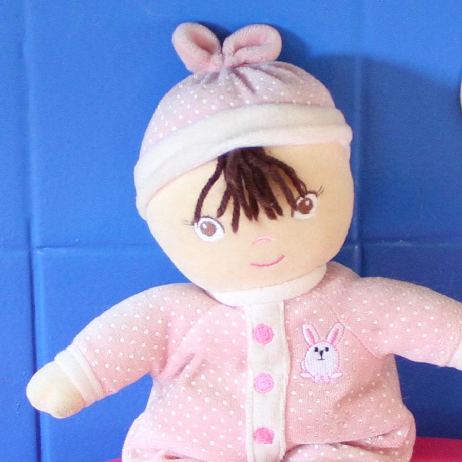 Voici Poupoune la poupée