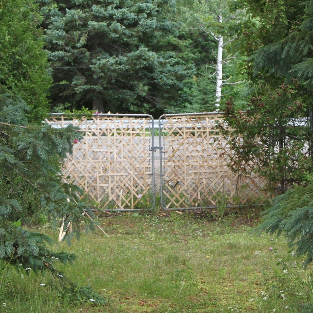 Projet de clôture et de récupération