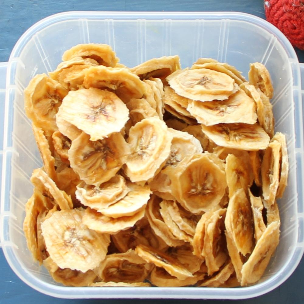 Bananes déshydratées