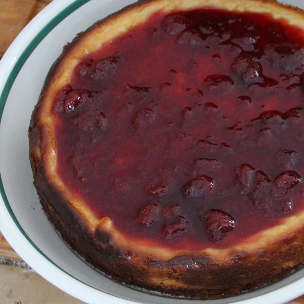 Gâteau au fromage citronné
