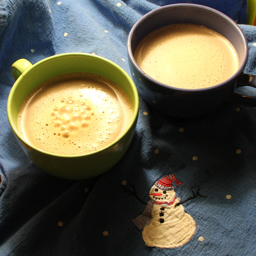 Chocolat chaud, mélange maison