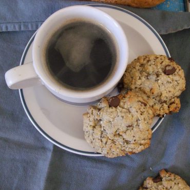 café, biscuits