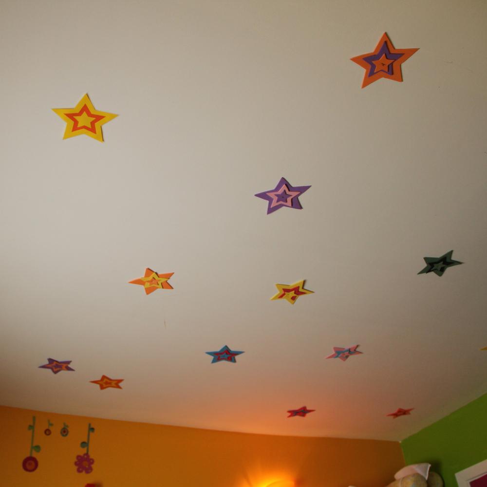 Des étoiles au plafond