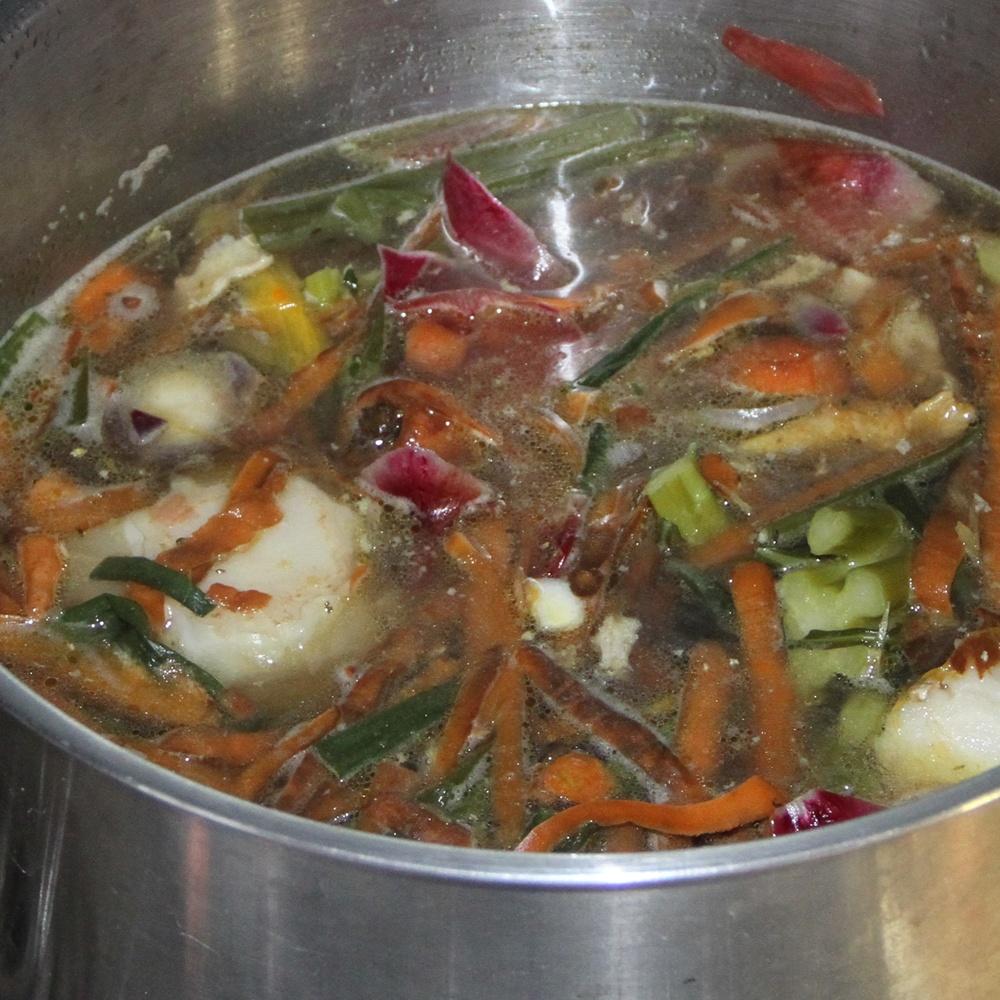 Bouillon de compost