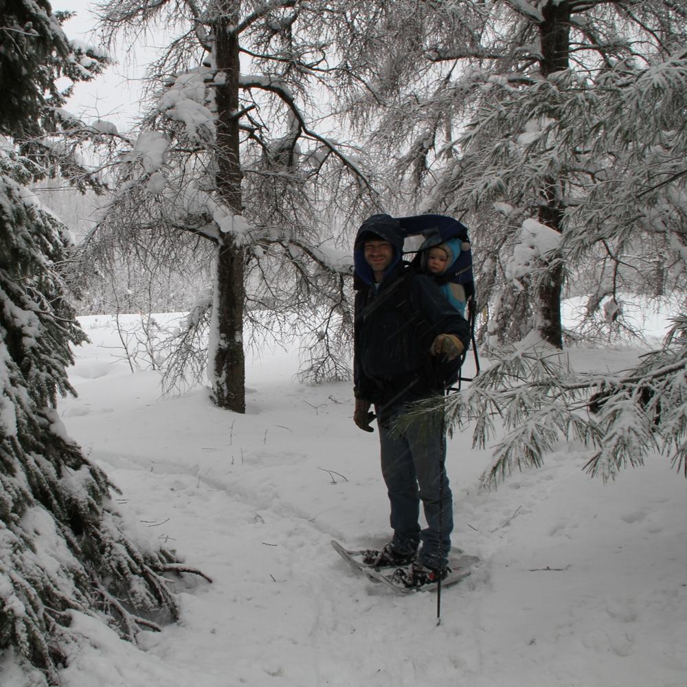 Porte-bébé de randonnée