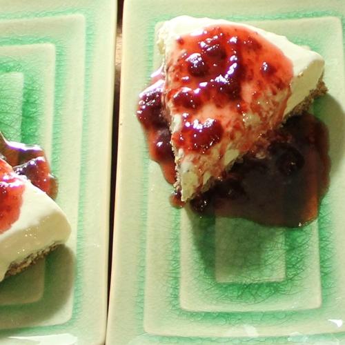 Le dessert glacé au fromage de Lyne