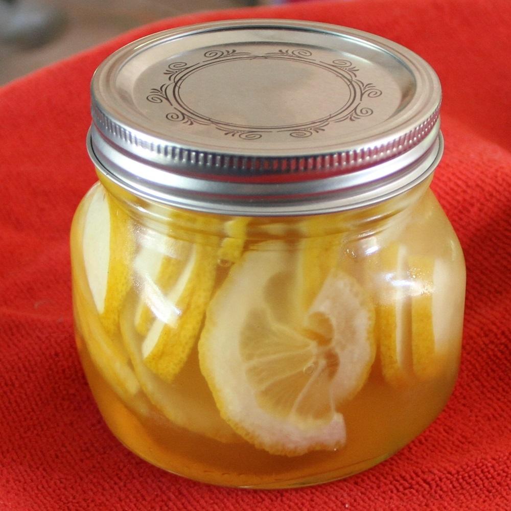 Citron et miel pour gorges endolories