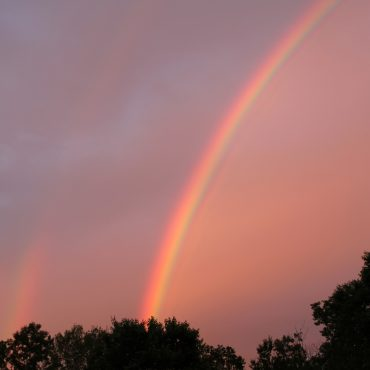 Nature du dimanche: Arc-en-ciel double